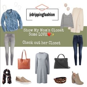 CHECK OUT MY MOM'S CLOSET @drippingfashion